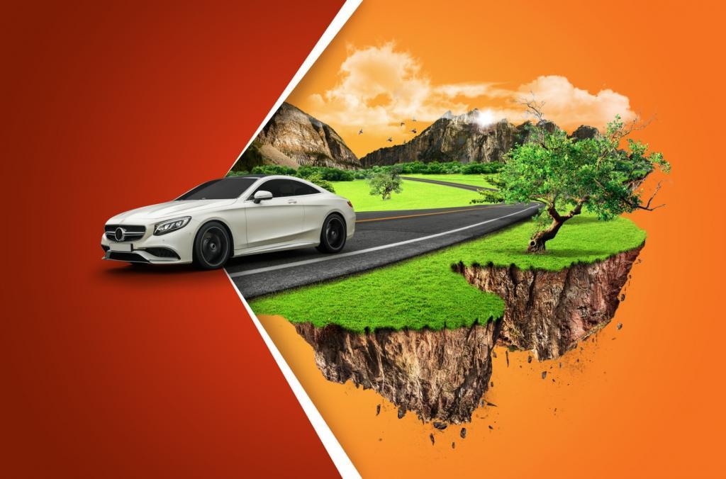 Współczesna wypożyczalnia samochodów